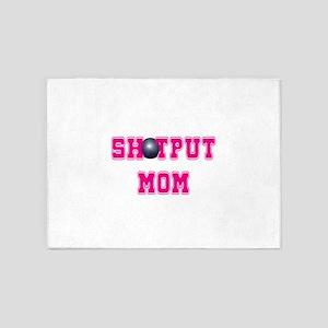 Shotput Mom 5'x7'Area Rug