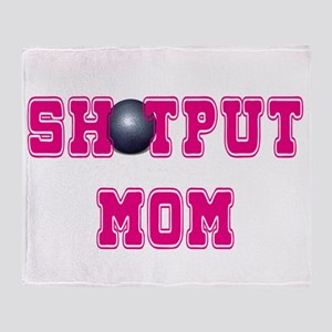 Shotput Mom Throw Blanket