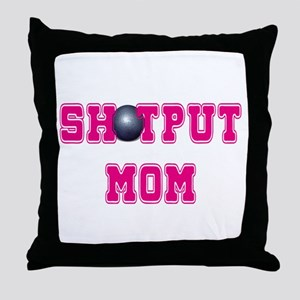 Shotput Mom Throw Pillow