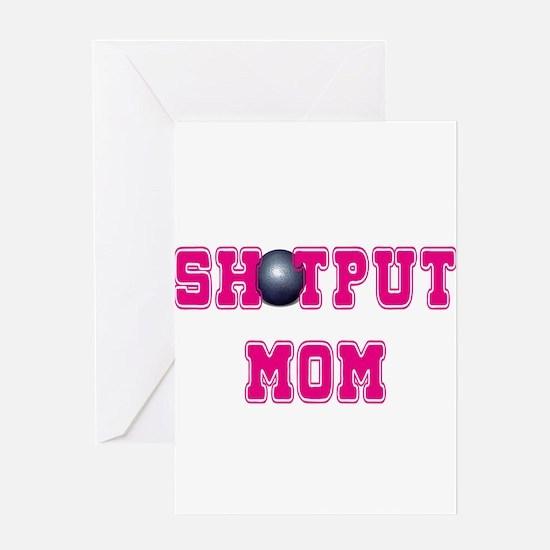 Shotput Mom Greeting Cards