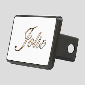 Gold Jolie Rectangular Hitch Cover