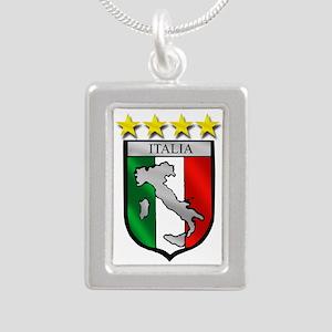 Italia Shield Necklaces