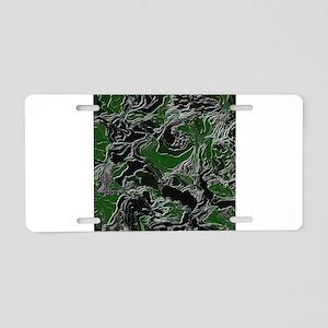 Camo effect Aluminum License Plate