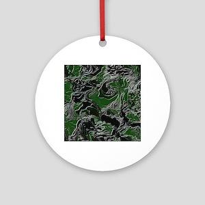 Camo effect Ornament (Round)