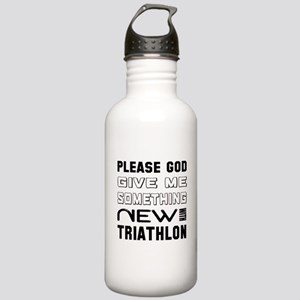 Please God Give Me Som Stainless Water Bottle 1.0L