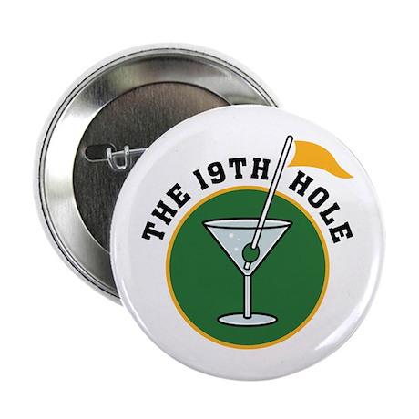 "19th Hole golf 2.25"" Button"