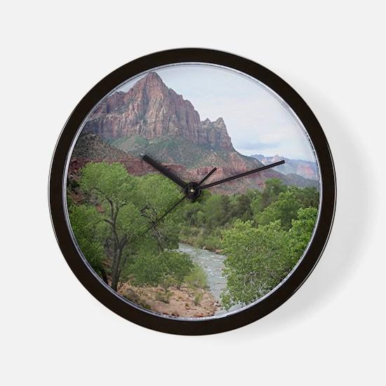 Zion National Park, Utah Wall Clock