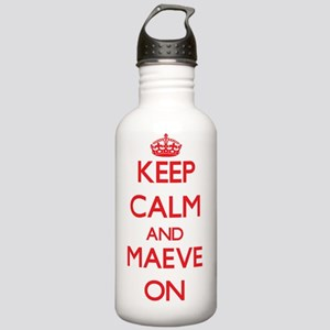 Keep Calm and Maeve ON Stainless Water Bottle 1.0L