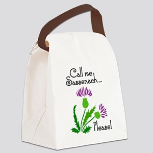 CallMePlease Canvas Lunch Bag