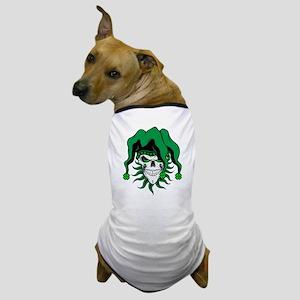 Irish Jester Skull Dog T-Shirt