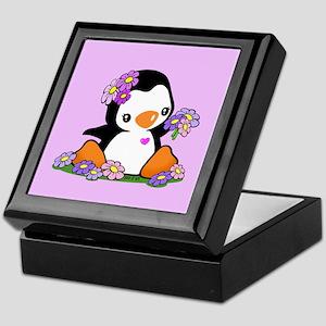 Penguin Keepsake Box