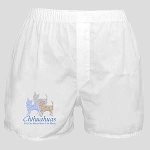 Never Too Many Chihuahuas Boxer Shorts