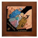 Wizards & Witches Framed Tile