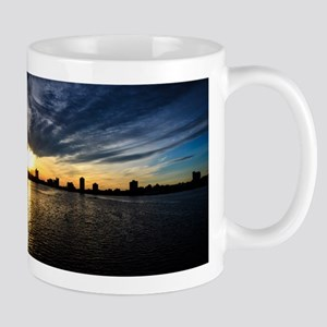 Blazing Boston Sunset Mugs