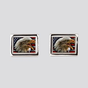 Come And Take It Rectangular Cufflinks