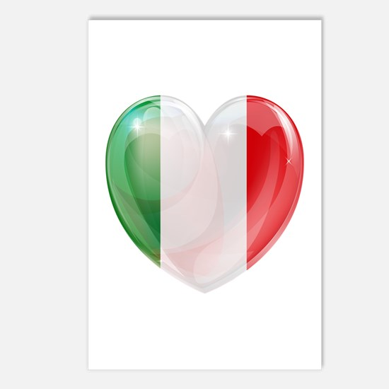 My Italian Heart Postcards (Package of 8)