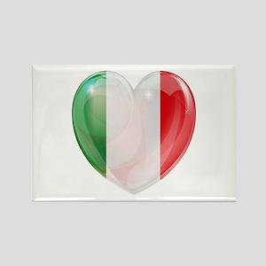 My Italian Heart Rectangle Magnet