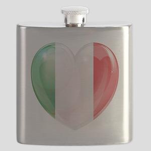 My Italian Heart Flask