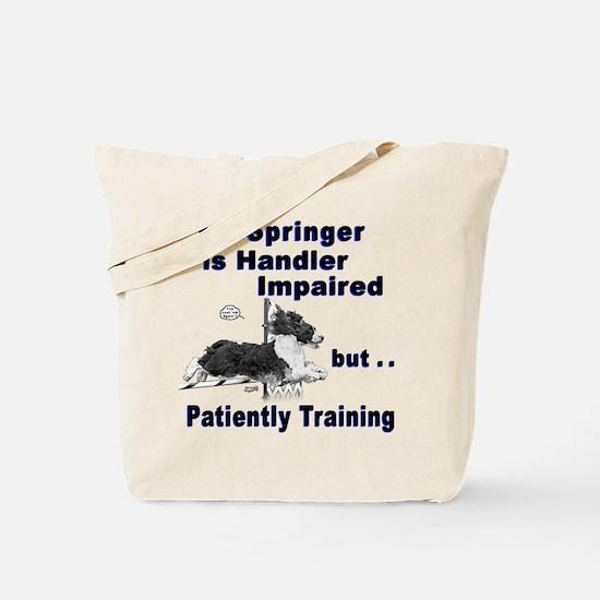 Springer Spaniel Agility Tote Bag