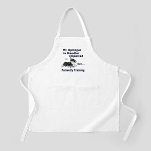 Springer Spaniel Agility BBQ Apron