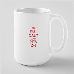 Keep Calm and Miya ON Mugs