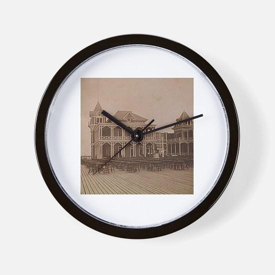 ca. 1880 ~ West End Hotel Wall Clock