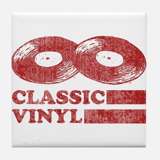 Classic Vinyl Tile Coaster