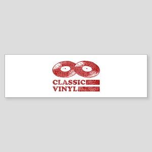 Classic Vinyl Bumper Sticker