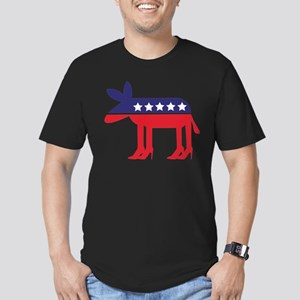 Democratic Donkey on Heels T-Shirt