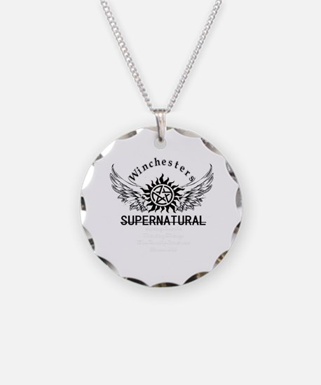 Winchesters Family Bus Necklace
