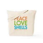 Peace-Love-Shells Tote Bag