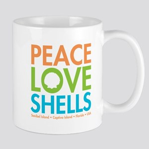 Peace-Love-Shells Mug