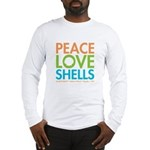 Peace-Love-Shells Long Sleeve T-Shirt
