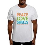 Peace-Love-Shells Light T-Shirt