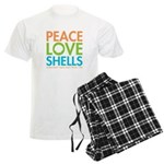 Peace-Love-Shells Men's Light Pajamas