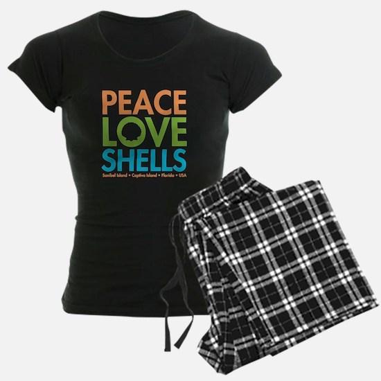 Peace-Love-Shells Pajamas