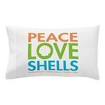 Peace-Love-Shells Pillow Case
