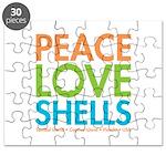 Peace-Love-Shells Puzzle