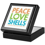 Peace-Love-Shells Keepsake Box