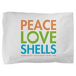 Peace-Love-Shells Pillow Sham