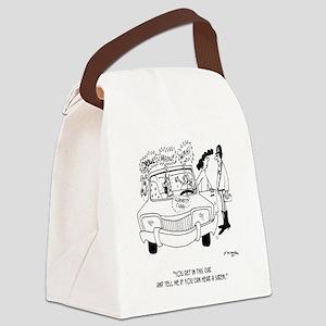 Mother Cartoon 4180 Canvas Lunch Bag