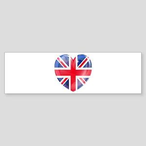 MY BRITISH HEART Sticker (Bumper)