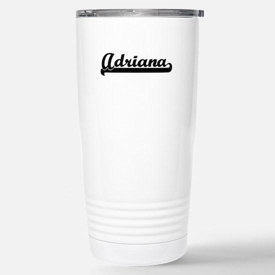 Adriana Classic Retro N Stainless Steel Travel Mug