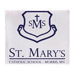 St. Mary's School Throw Blanket