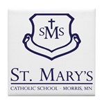 St. Mary's School Tile Coaster