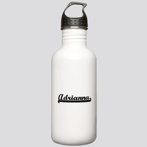 Adrianna Classic Retro Stainless Water Bottle 1.0L