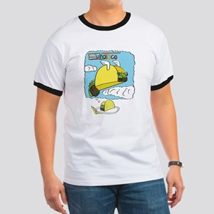 Flying Taco Dreams - Large T-Shirt