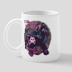 Gothic Princess Pony Mug