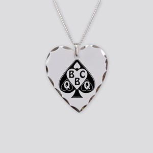 Queen Of Spades Loves Bbc Necklace Heart Charm