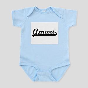 Amari Classic Retro Name Design Body Suit